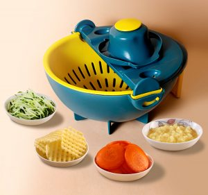 Vegetable Chopper Slicer with Peeler Veggie Vegetable Shredder Grater Manufacturer Wholesale